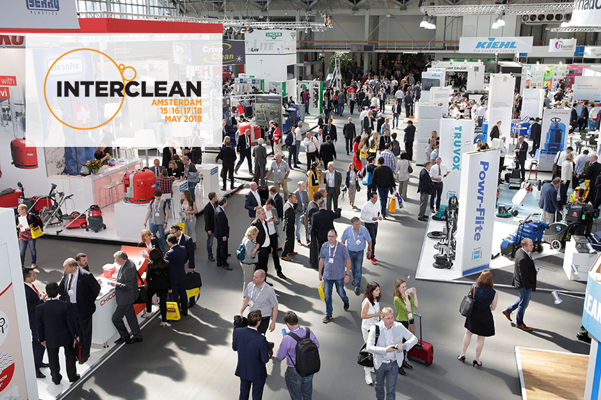 SCI-Services welcomes you at INTERCLEAN 2018 in Amsterdam > MAY 2018